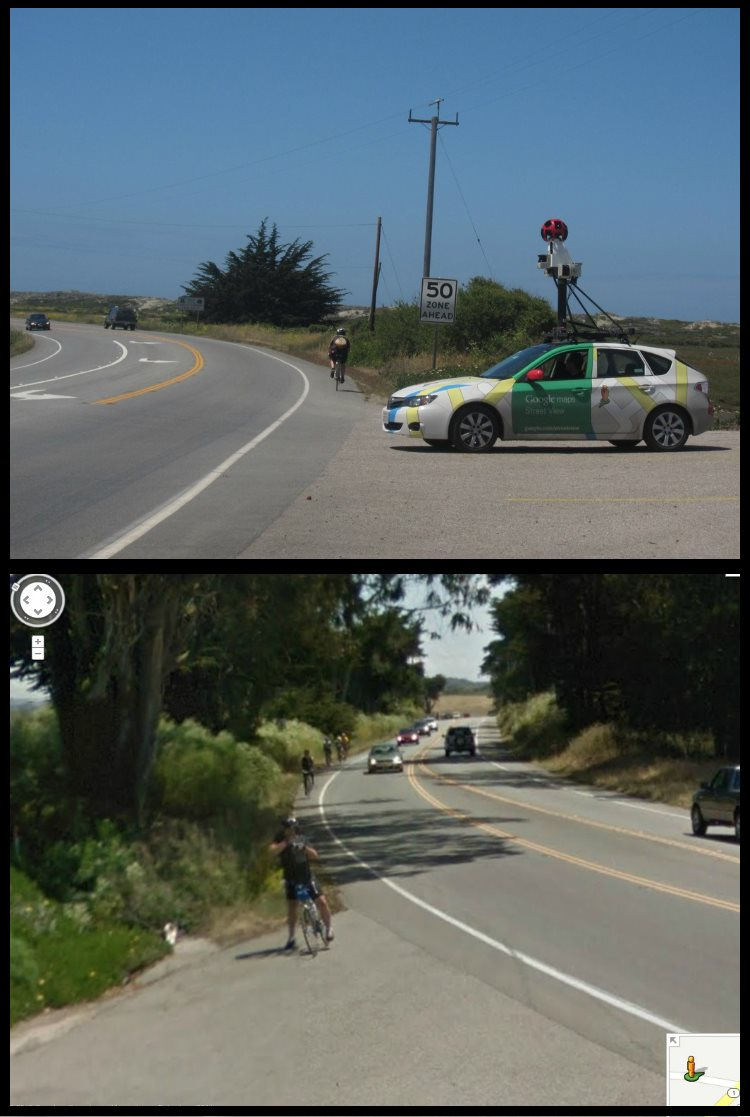 Duel Photos  Insolites Google Cars Maps
