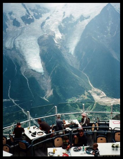Restaurant Le Panoramique, Chamonix, France