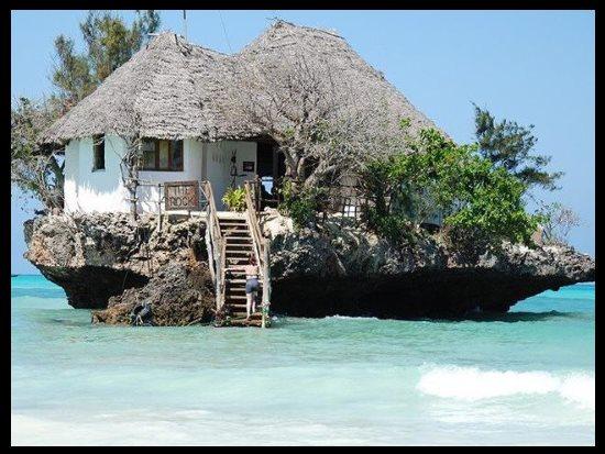 The Rock, Zanzibar, Afrique