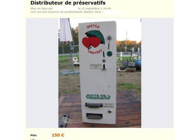 Distributeur de capotes