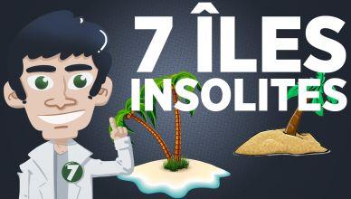 7 îles insolites