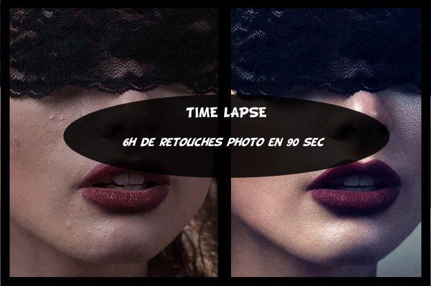 Time-Lapse : Retouche Photoshop