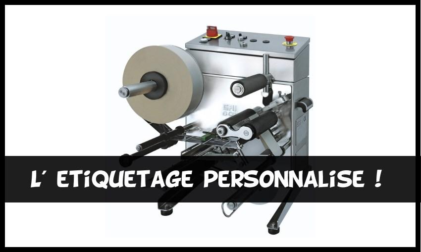 Etiquetage personnalise entreprise