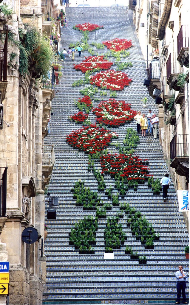 Escalier Insolite - Artiste de Rue