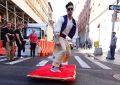 Aladin dans les rues de New York