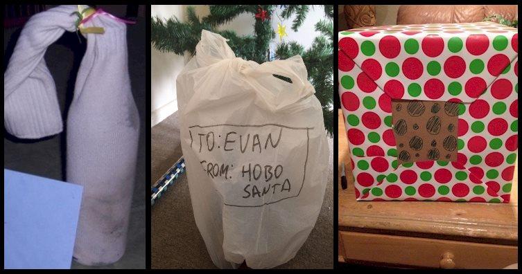 16 emballages cadeaux noel fail insolite