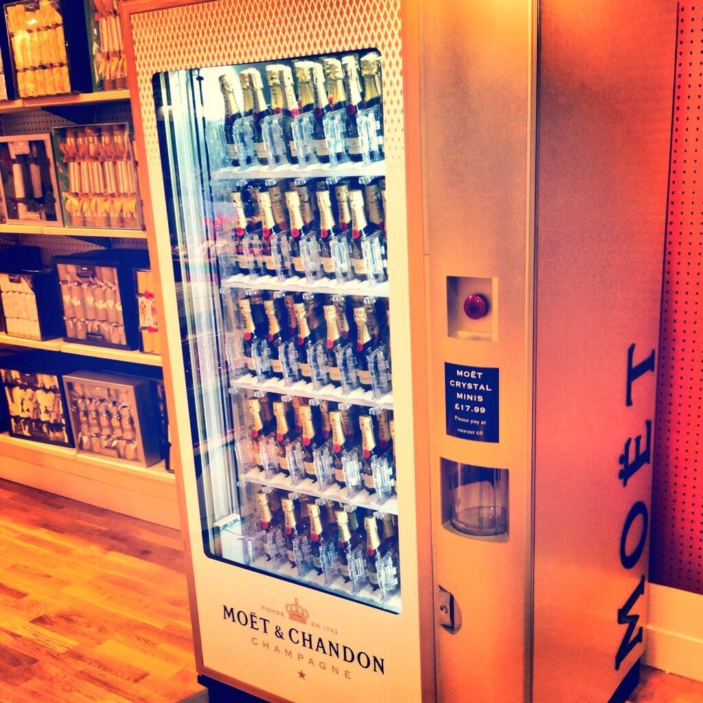Distributeur de Champagne