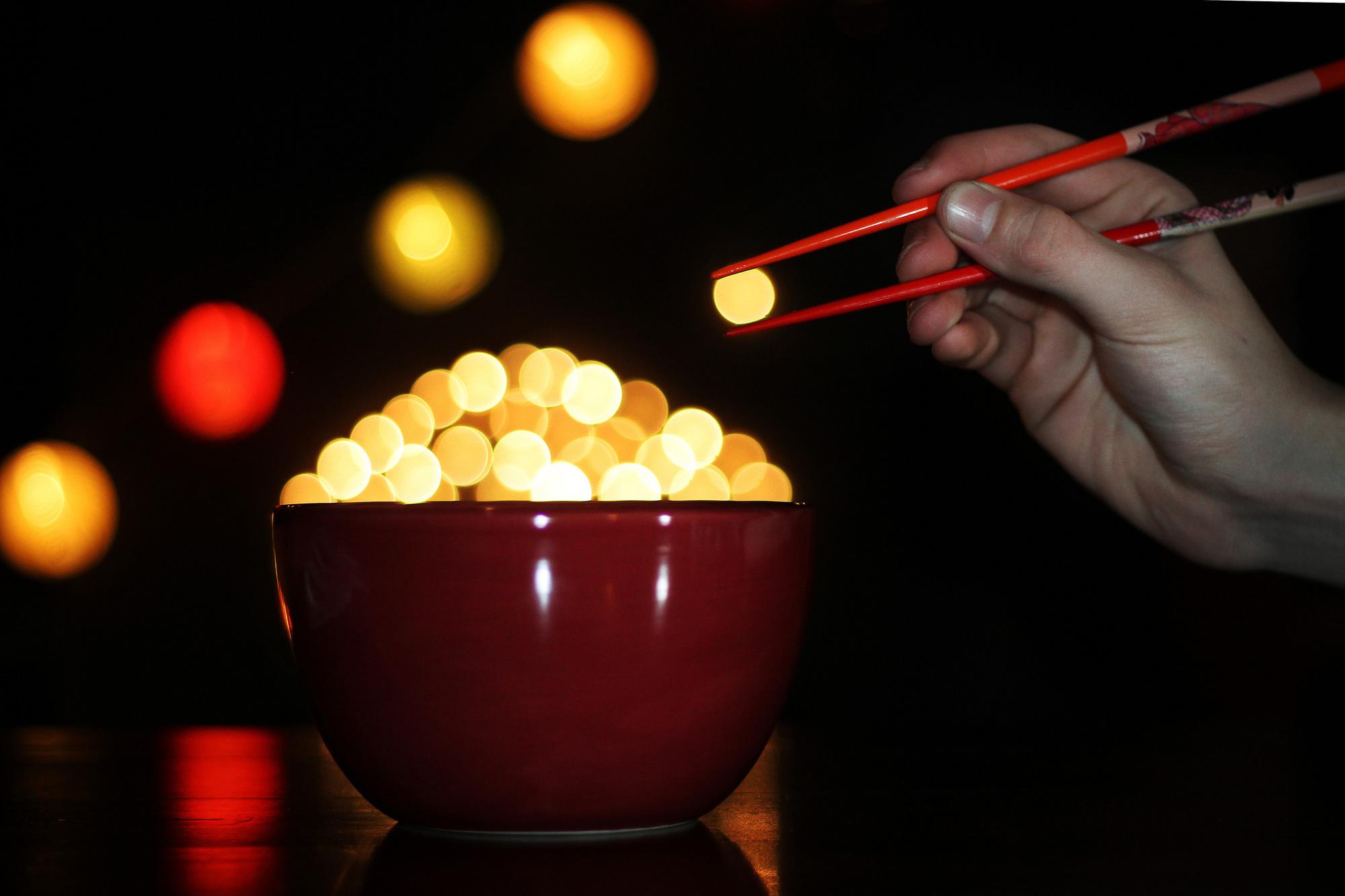 #7 Do you wanna eat a bowl of bokeh?