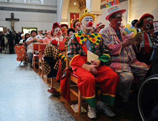 messe des clowns