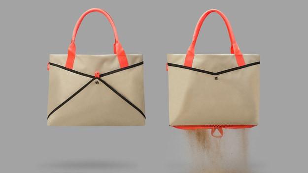 And, an accompanying beach bag