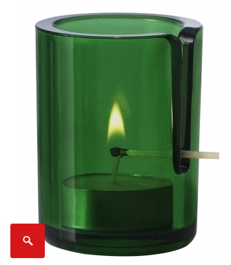 Never burn your fingers again with this smart tea light votive.