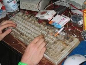 le-clavier-le-plus-sale