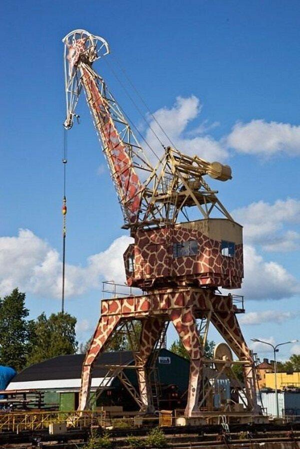 Girafe mécanique