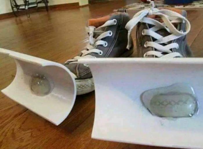 Chaussures spéciales pour déneiger