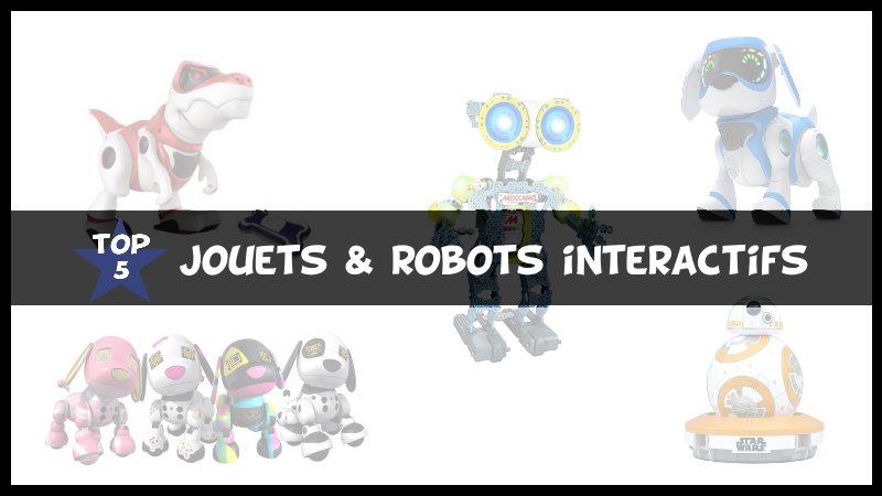 Top 5 des Jouets interactifs & Robots connectés