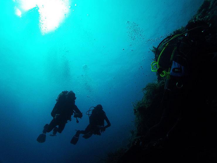 Faire de la plongée débutant
