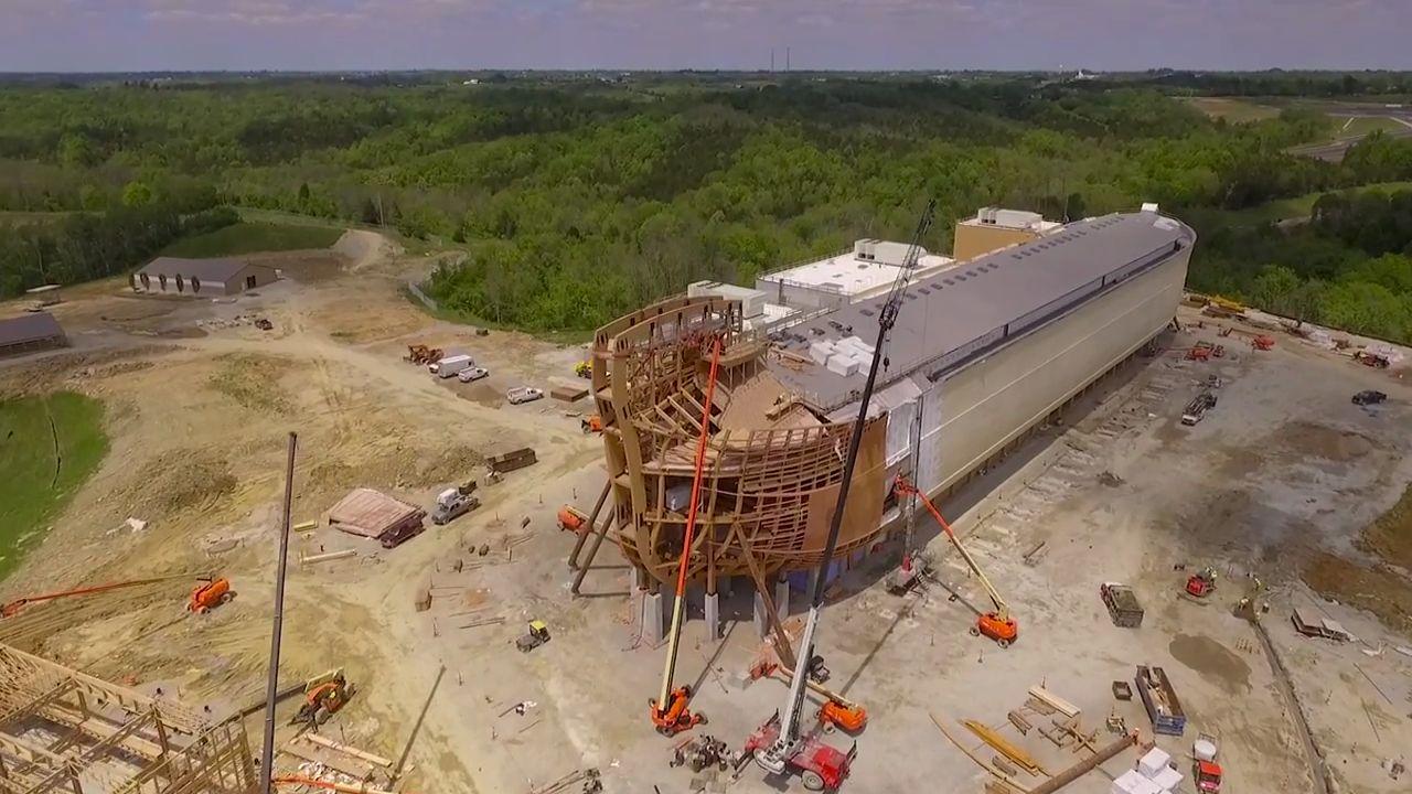 Une Arche de Noé grandeur nature