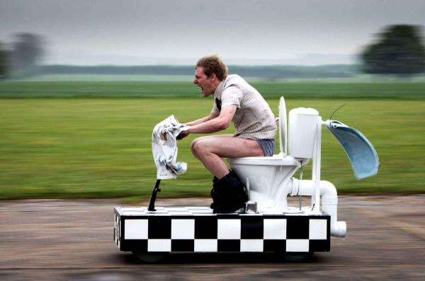 Toilette moto