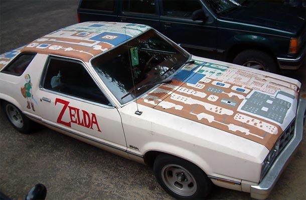 Voiture Zelda 1