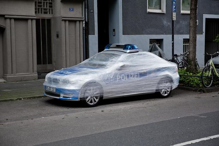 Troller une voiture de police