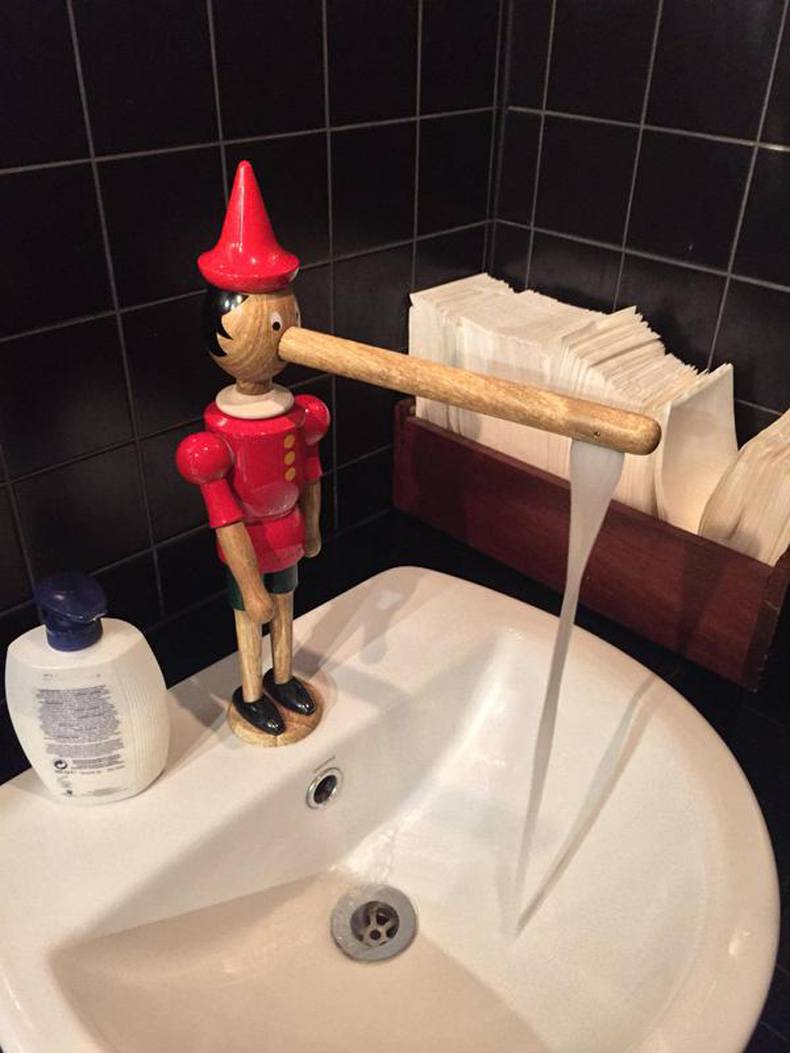 Robinet Pinocchio