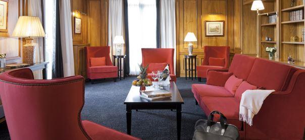 La suite Royale de Hôtel Royal Barrière