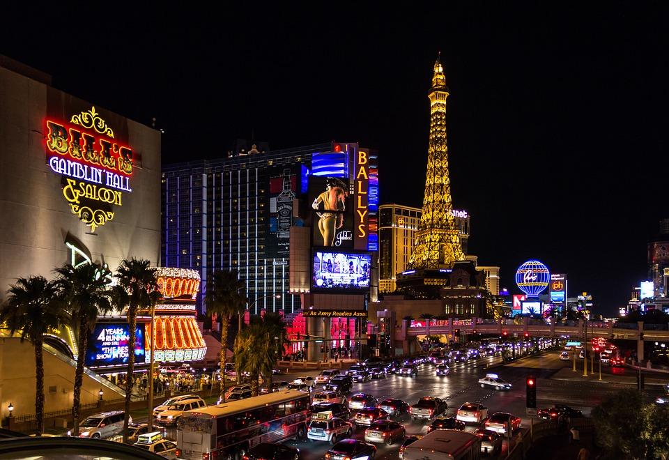 Les 5 meilleurs hôtels casinos de Las Vegas