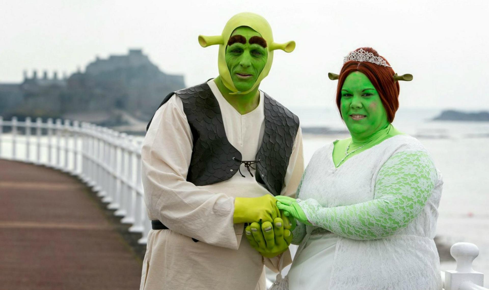 mariage shrek
