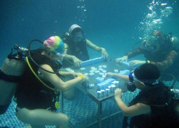 Petite partie sous-marine
