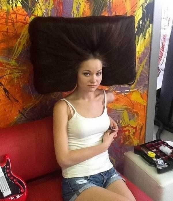 Coupe de cheveux télévision
