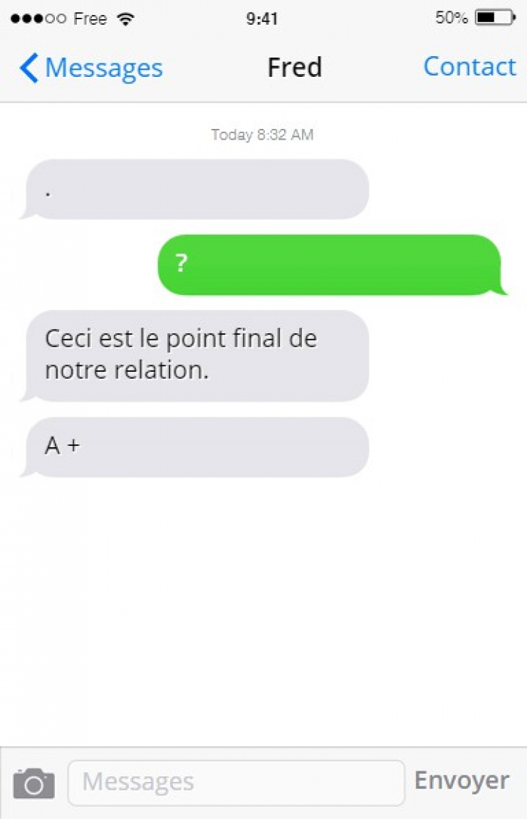 sms point final relation