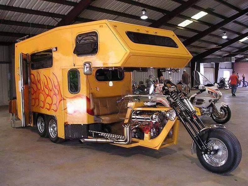 Moto-caravane