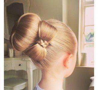 Soiffure Facile A Faire Soi Meme Noeud Papillon Cheveux Long Mi