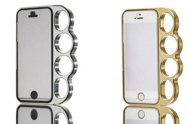 coque iphone poing americain