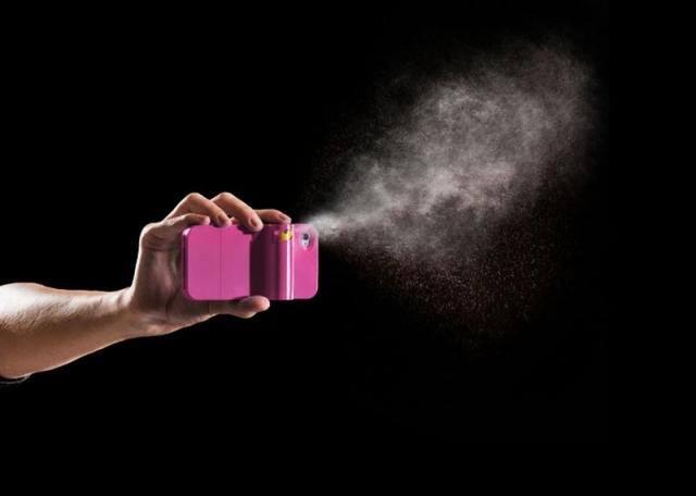 coque iphone spray poivre