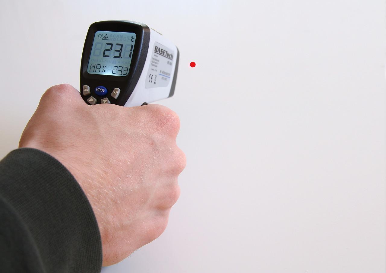 thermomètre de bricolage infrarouge